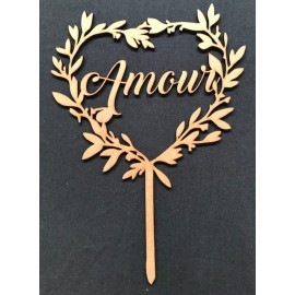 "Cake topper ""Amour"""